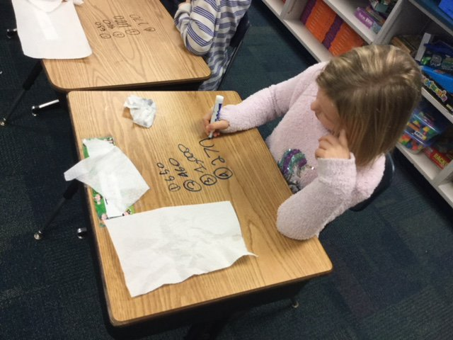 test Twitter Media - What better way to do our math warm up problems - dry eraser markers and practice on our desks! #d30learns https://t.co/PBxmU5oxHk