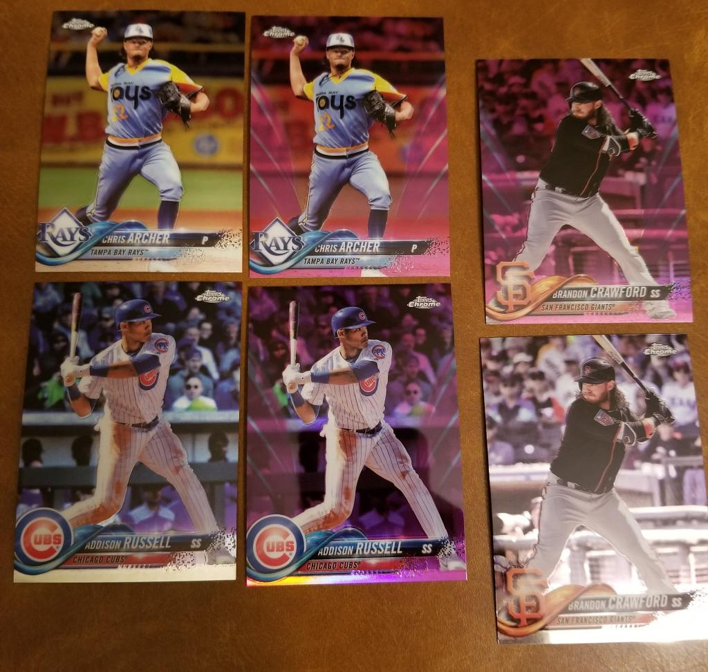 @CardConnector 6 CARD LOT....CHRIS ARCHER, ADDISON RUSSELL AND BRANDON CRAWFORD and Team Lots.... $20 SHIPPED https://t.co/By64hFsYk4