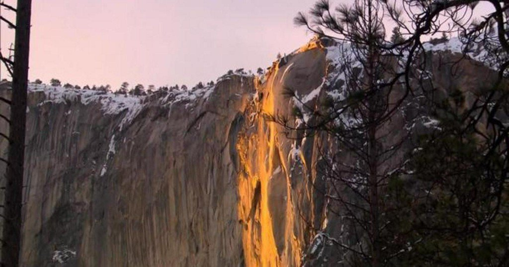 """Yosemite's breathtaking """"Firefall"""" is back – but not for long"""