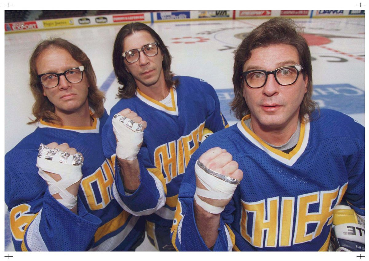 Bespectacled Hanson brothers still drawing crowds decades after Slap Shot @Globe_Sports