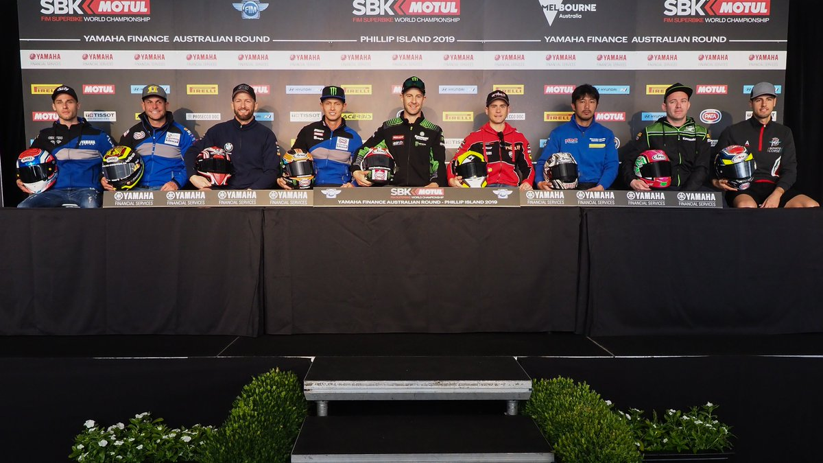 test Twitter Media - 2019 triple treating #WorldSBK season officially launched at Phillip Island  #AUSWorldSBK 🇦🇺  📃 | #WorldSBK https://t.co/yrc00wmInT https://t.co/2ERJurMwb3