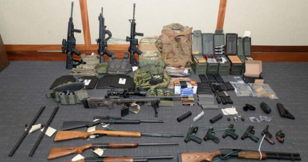 Coast Guard officer arrested on gun charges had hit list of prominent Democrats, feds say