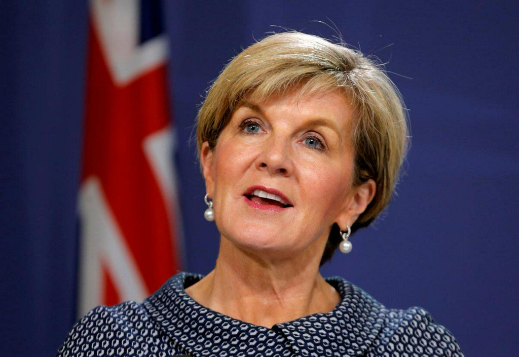 Australia's former foreign minister Julie Bishop will not fight next election