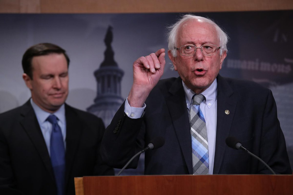 Bernie Sanders campaign raises $6 million in first 24 hours—four times that of Kamala Harris