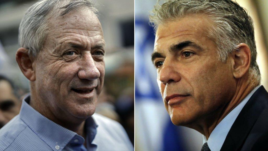 Netanyahu's main challengers form centrist alliance ahead of Israeli election