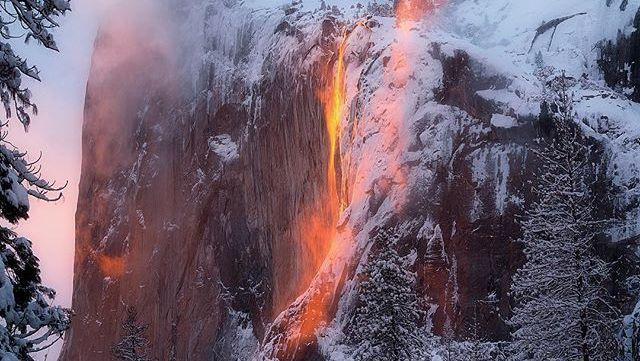 test Twitter Media - Yosemite's 'firefall' returns as visitors capture amazing photos https://t.co/oJuOPh6whv https://t.co/8enPhKfBFR