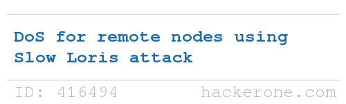 Monero disclosed a bug submitted by sobhraj_charles: https://t.co/HYnJBcwvsC #hackerone #bugbounty https://t.co/87BGLfhaxb