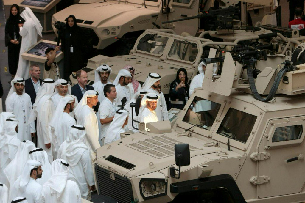 UAE signs $5.5 billion in military contracts as Yemen war heightens scrutiny