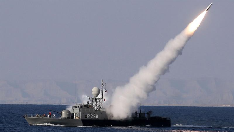 Iran holds naval war games in Strait of Hormuz amid US tensions