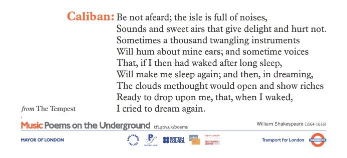 test Twitter Media - Good news - we've just updated our website with all the #PoemsontheUnderground posters we have in stock! The posters are always free (we just charge for P&P) and will perfectly fill that poetryless space on your wall - have a browse now: https://t.co/L1AOPguGHy https://t.co/BmcKtc2K6b