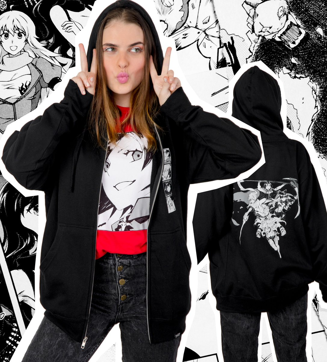 test Twitter Media - Take it off the page and onto the streets. Shop the new #RWBY Manga Ink collection now!  https://t.co/cR9MLXlplY https://t.co/ceNJZEN7C4