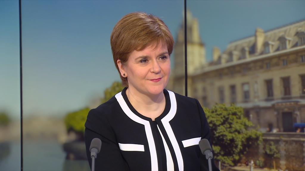 A delay to Brexit is 'almost inevitable', Scotland's Nicola Sturgeon tells FRANCE 24