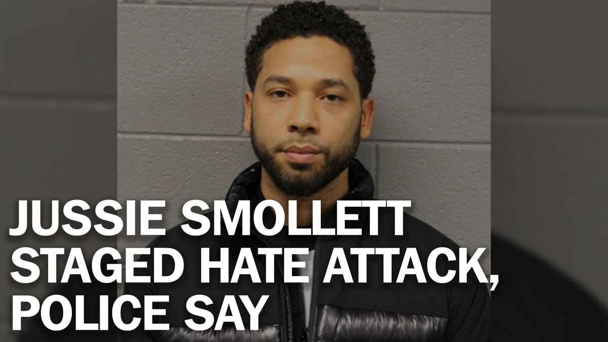 Jussie Smollett staged hate attack because he was unhappy about his salary, police say