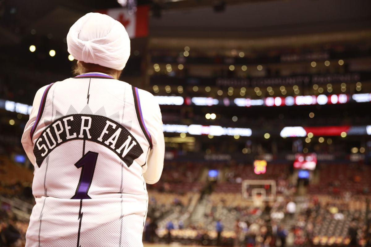 Raptors superfan Nav Bhatia: From courtside to building courts for kids @Globe_Sports