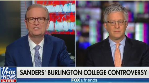 Fox News goes after Bernie Sanders' wife, GOP guest demands bank fraud special prosecutor