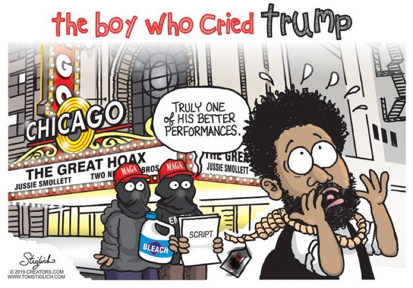 test Twitter Media - The truly significant crime perpetrated here is the crime against truth by the liberal media. #FakeNews #JussieSmollettHoax https://t.co/505GqhVLgn