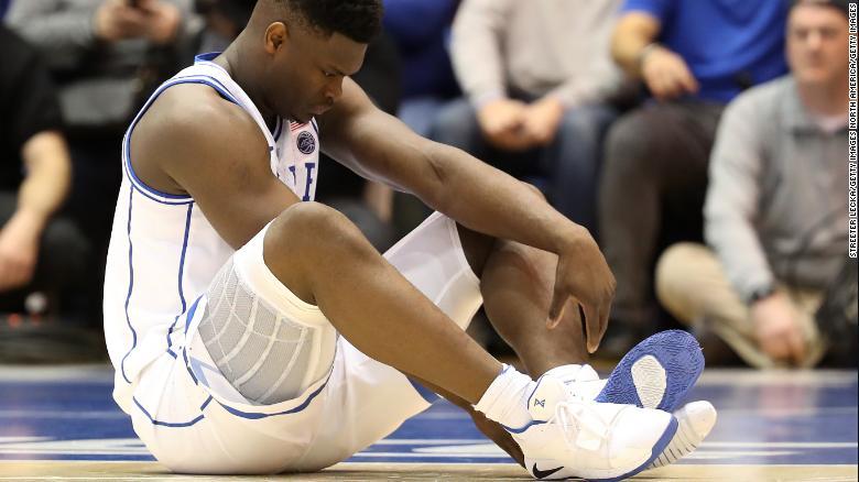 Nike's stock falls after Duke star breaks sneakers