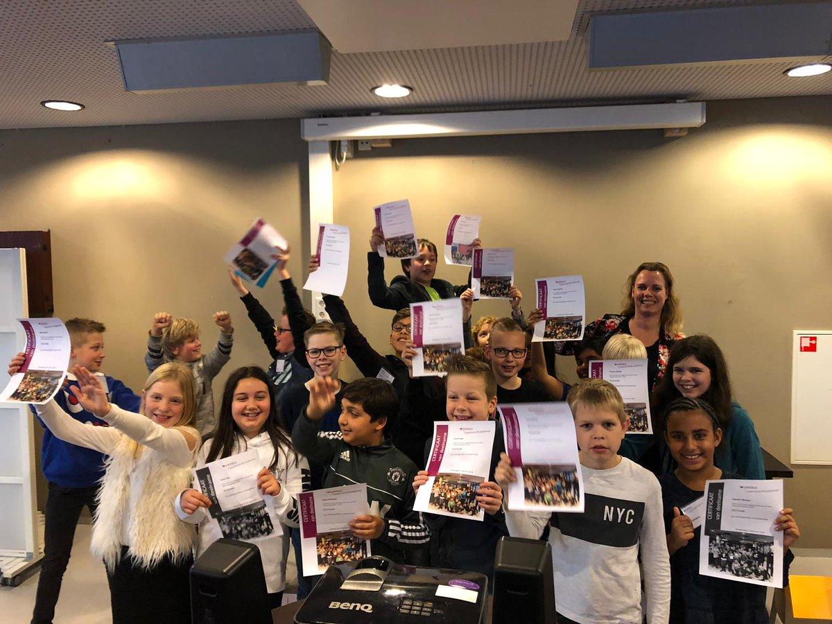 test Twitter Media - Geweldige afsluiting TalentenAcademie sector techniek! 33 kinderen hebben een certificaat ontvangen en zijn weer veel wijzer geworden over de beroepen en hun talenten @stichtingpiezo https://t.co/Cdlmz2sSJ7