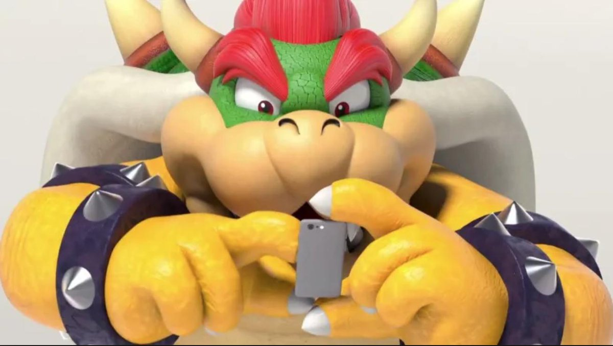*Bowser on Twitter trying to find out why people think he's the new Nintendo of America president.* https://t.co/g5ShQnT71u