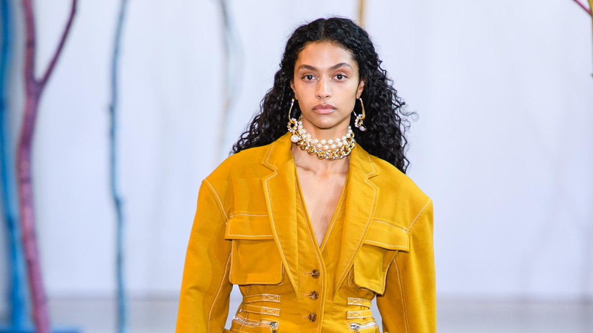 RT @VogueRunway: View the complete @ADEAMonline Fall 2019 collection. https://t.co/5v38OfY9Xz https://t.co/2RHXQUEDvp