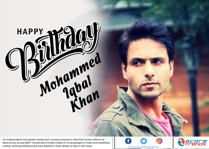 Score Trends wishes Mohammed Iqbal Khan a Happy Birthday!!
