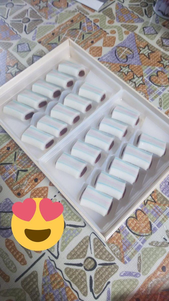 test ツイッターメディア - やったー\(^o^)/ いとこからのお土産がまさかの大好きな糸切餅!! https://t.co/QwU1FmyCWD