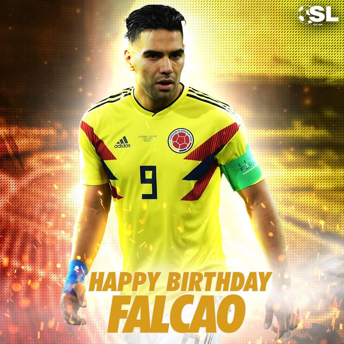 | Happy Birthday to Colombian forward, Radamel Falcao!