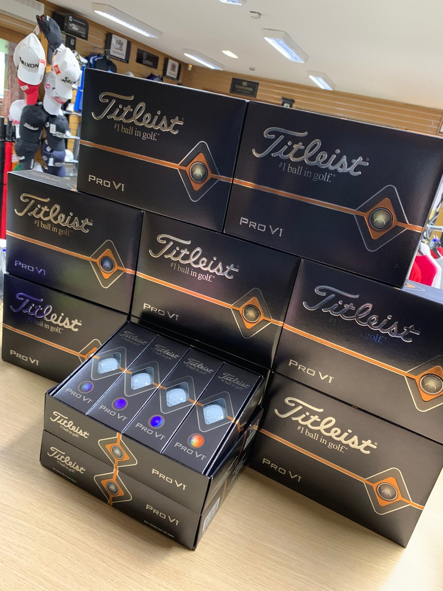 test Twitter Media - The NEW and improved @TitleistEurope Pro V-1 and Pro V-1x is here!   Be one of the first to use the Brand New #1 Ball in #Golf!  Just £44.99 a dozen!  For more details call @CottrellParkLtd on 01446 781781 (opt. 1) https://t.co/B8IHywfSlJ https://t.co/Cy0xqUwthO