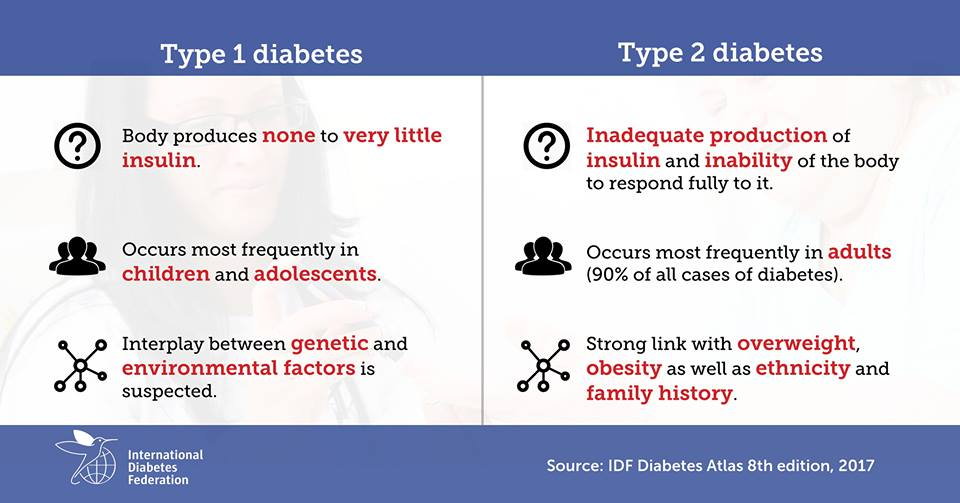 test Twitter Media - Type 1 and type 2 #diabetes have different causes and risk factors, as well as different treatments. Do you know the differences?  https://t.co/SZeYmVZ7pj https://t.co/Irm6L5i9Ld