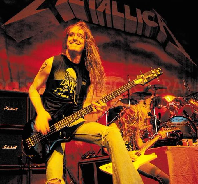 Happy Birthday to the late Cliff Burton.
