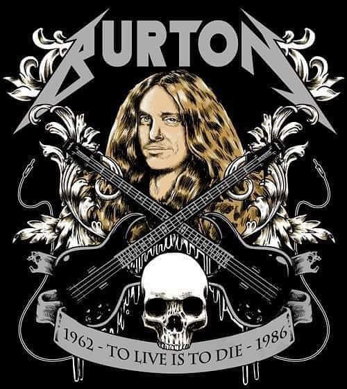 Thrash godz never die! Happy birthday Cliff Burton