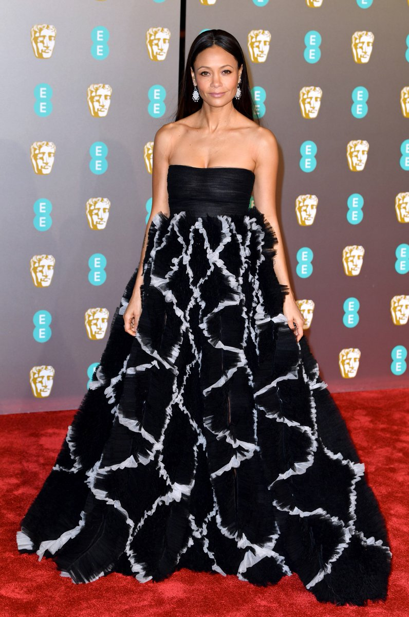 RT @BazaarUK: Thandie Newton graces the red carpet at tonight's BAFTA awards ???? More here: https://t.co/ccWUA0ApLt https://t.co/3JgMTvsZjm