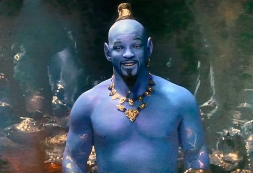 RT @HenryLovesYou: Someone should ask will smith If he's doin alright cause he looks a little blue https://t.co/6fJcMoaWHG