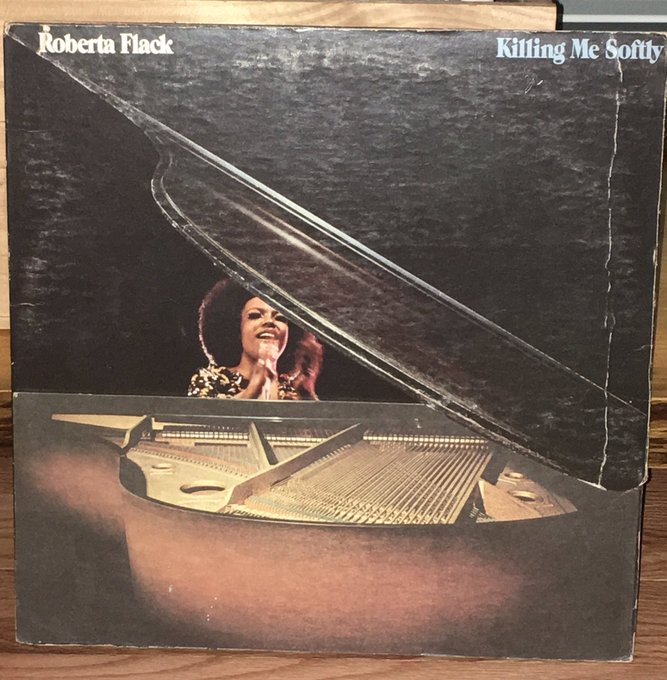 Happy birthday Roberta Flack.  Thanks for the music and one of the coolest album covers ever.