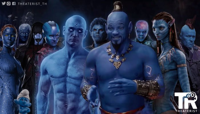 RT @Theaterist_th: เมื่อถึงวันรวมญาติ #Genie #Aladdin #AladdinTH #WillSmith #MovieTwit https://t.co/i5M6GZw9G3