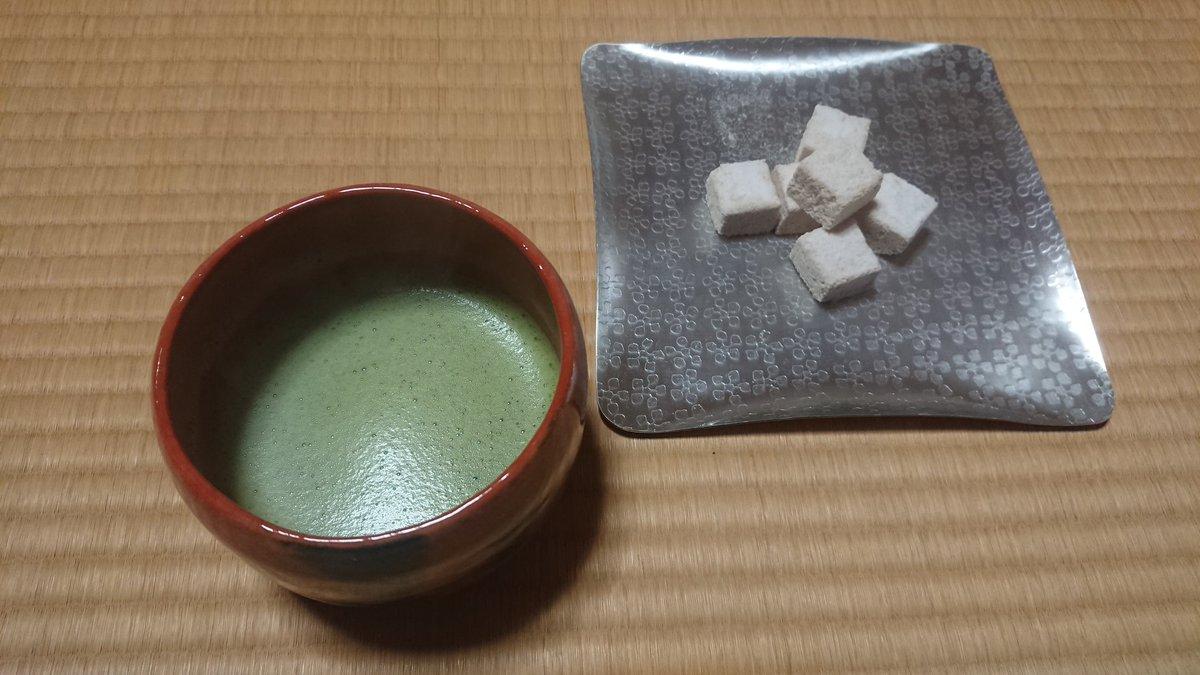 test ツイッターメディア - 今日は茶杓を削りました。 今宵は妙喜庵主の赤茶碗で一服。 菓子は越乃雪本舗大和屋の越乃雪。 https://t.co/VwHCZWEGad
