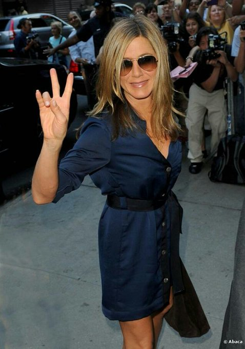 Officially happy birthday Jennifer Aniston