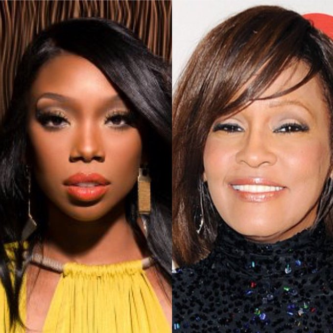 Weird fact... On this day the 11th February Happy birthday Brandy Norwood.  On this day 2012 R.I.P +Whitney Houston.