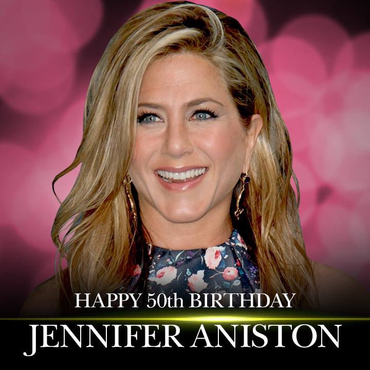 Wow....50 looks good on Jennifer Aniston. As beautiful as ever! Happy Birthday!
