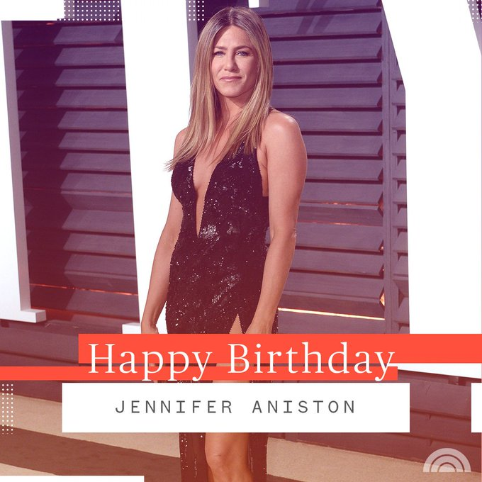 50 has never looked better! Happy birthday, Jennifer Aniston.
