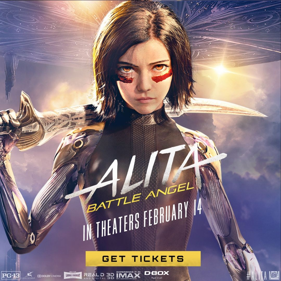 test Twitter Media - This Friday, she'll show you what she's capable of! Get your tickets NOW and feel the power of #AlitaBattleAngel in #DBOX! // Achetez vos billets dès maintenant et ressentez le pouvoir de #AlitaBattleAngel en #DBOX! 👉 https://t.co/hc6qrwAkQM https://t.co/VI7g8lxPS4