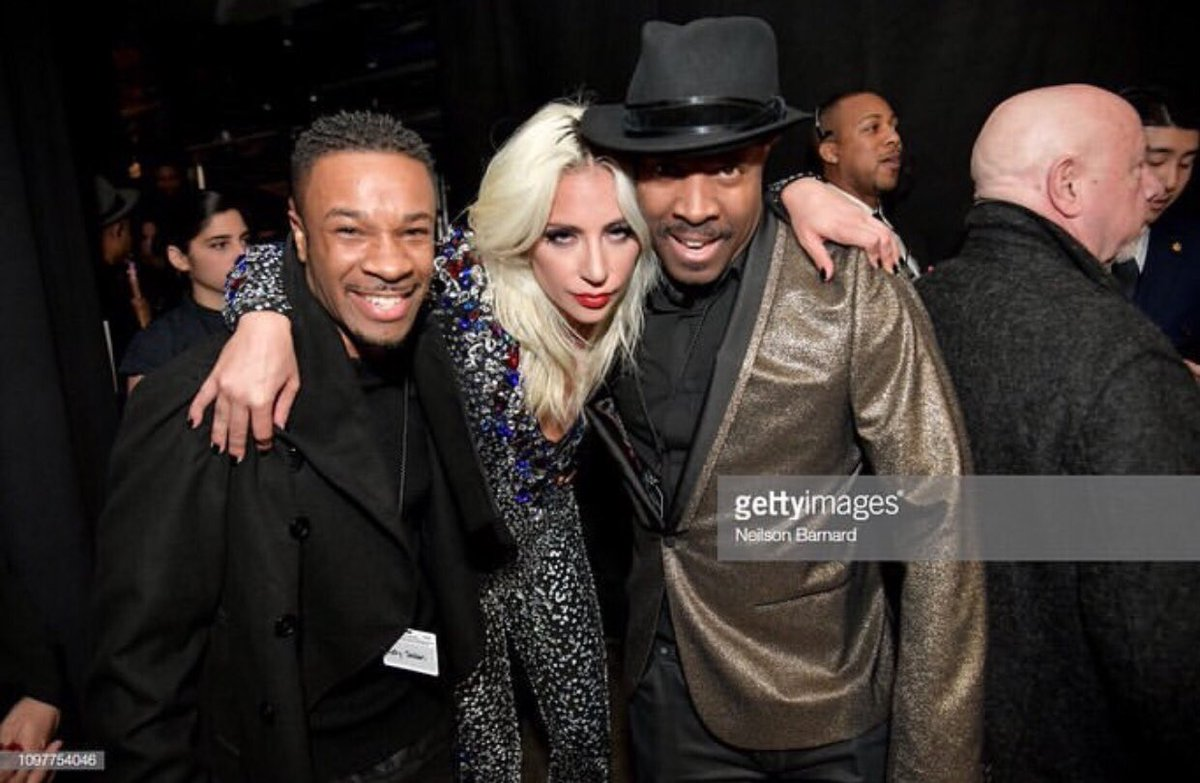 RT @RICHYSQUIRREL: Fresh off the stage last night! @ladygaga @MichaelBearden #GrammyAwards2019  WE did it!!! https://t.co/SqQKyEfOH1