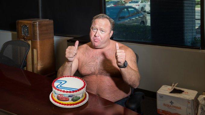 Wishing my fellow patriot Alex Jones a happy 45th birthday!