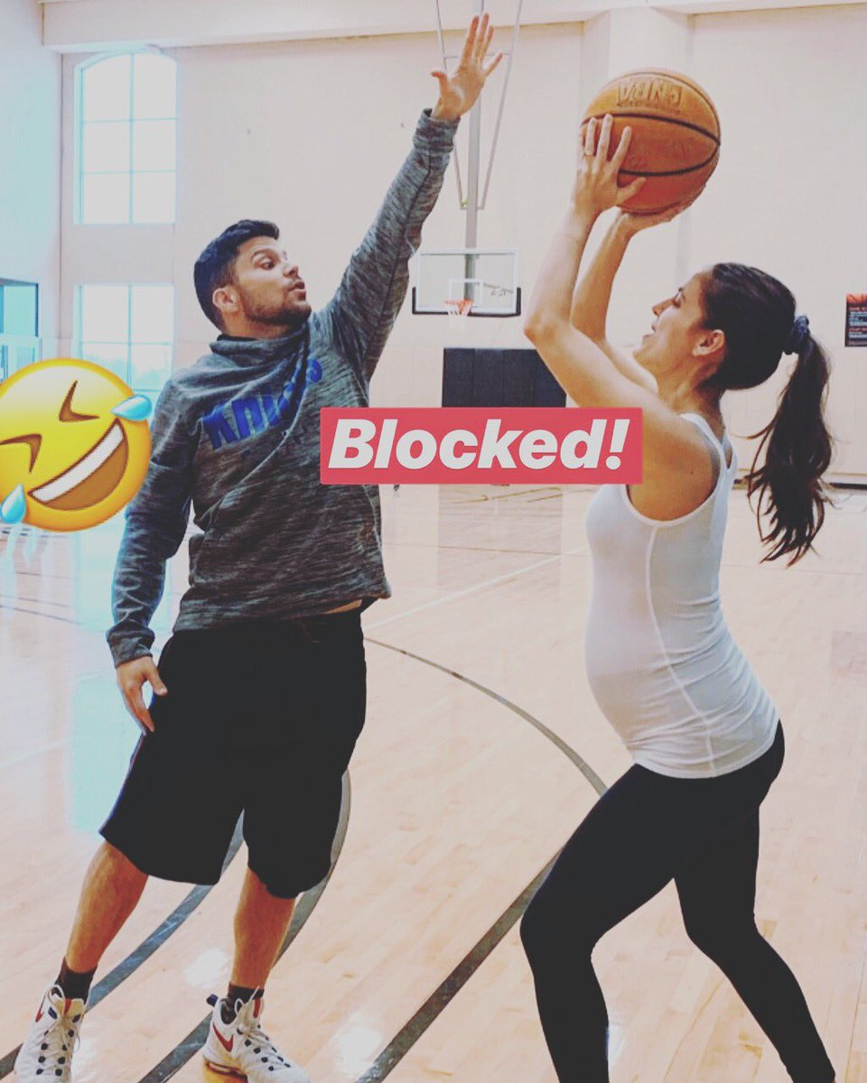 Had to do it! Cause Ball is Life!!! Sorry for locking you down @BreanneRacano https://t.co/v8ySkzjE6r