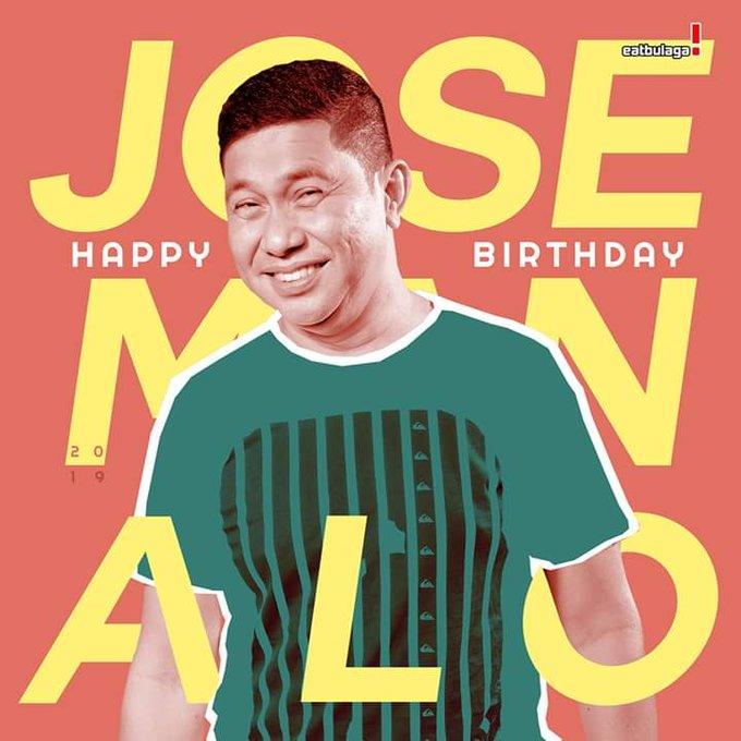 Happy happy birthday Jose Manalo Aka. Franky Lola Tinidora Boom Bash...