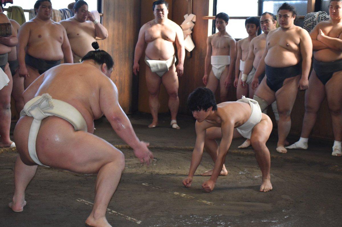 test ツイッターメディア - <JFAアカデミー福島相撲部屋実習@境川部屋> 2月10日に実施された、境川部屋でのJFAアカデミー実習の様子をご紹介します。 大関豪栄道がアカデミー生に対し胸を出し、ぶつかり稽古をしました。 #sumo #相撲 #jfa https://t.co/46XL98QkTg
