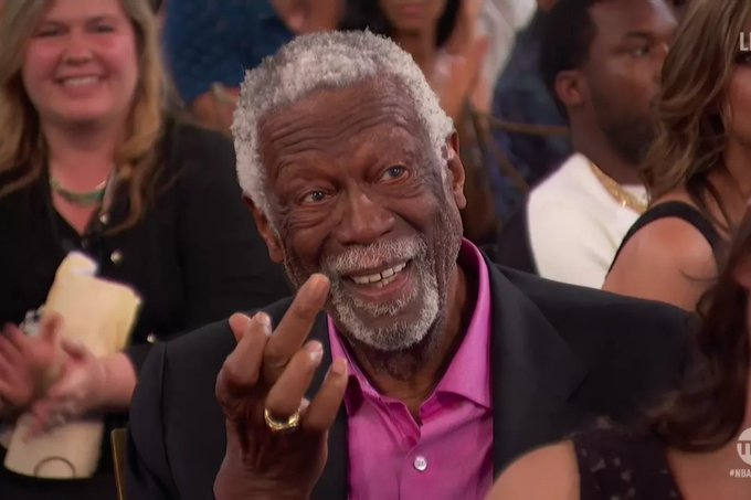 Happy 85th birthday to legend Bill Russell.  At 6 foot 10 he\s proof tall guys CAN live long lives.
