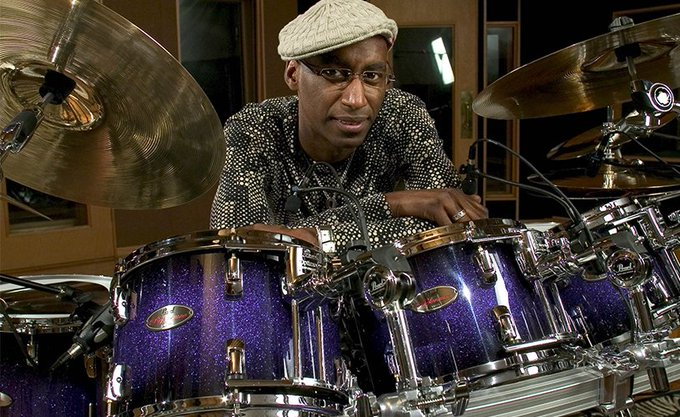 "HAPPY BIRTHDAY...OMAR HAKIM! ""SLO FUNK\""."