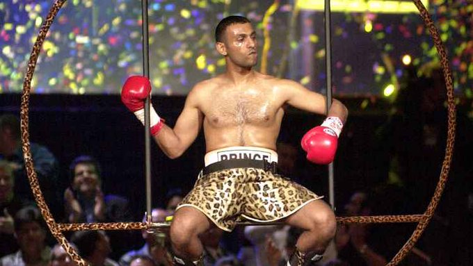 Happy 45th birthday to one of boxings greatest ever entertainers the one and only Prince Naseem Hamed