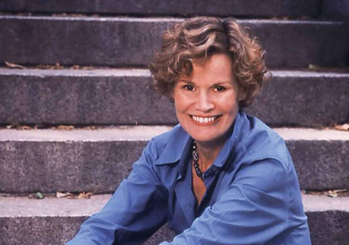 Happy 81st birthday, Judy Blume. Not everything has to have a point. Some things just are.